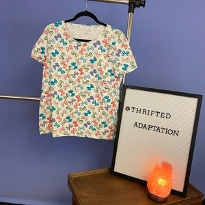 ⚡️5/$25 Adorable Bow Talbots tee! NWOT